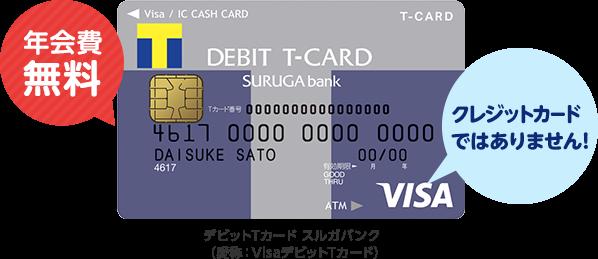 現金派のあなたにこれ一枚!Tポイント付きVisaデビットカード ...